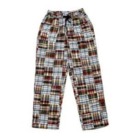 Mens Patch Work Night Pants