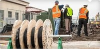 Electrical Contractor Cable Laying