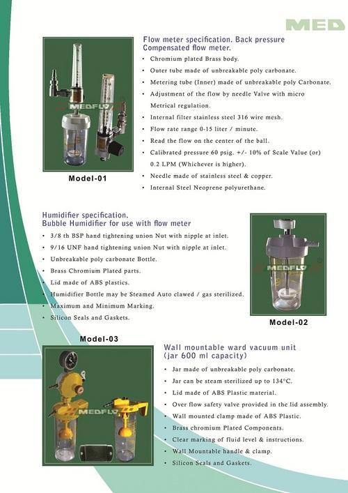 Wall Mountable Ward Vaccum Unit (Jar 600 Ml Capacity)