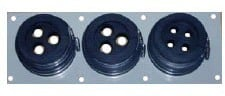Wall Entry Plate (3 Way)