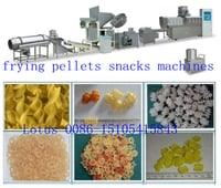 Extruded Frying Pellet Snack Food Machine