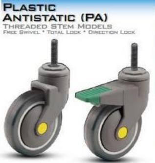 Plastic Antistatic Casters (PA)