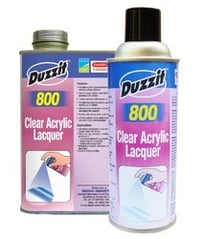Duzzit 800 Clear Acrylic Lacquer
