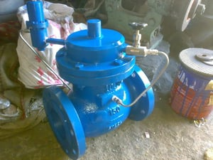 Piolt Operated Control Valve