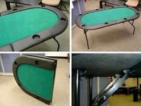 84Inch Foldable Poker Table