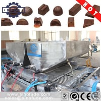 One shot chocolate molding machine