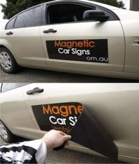 Magnetic Sign Plates