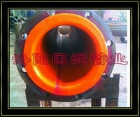 Oil Resistant Rubber Lined Steel Pipe