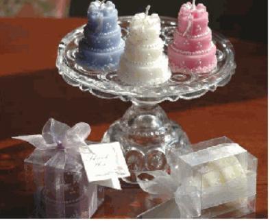 Wedding Cake Candle
