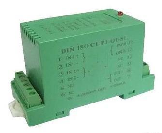 Single-Phase Ac Din Rail Signal Isolated Amplifier/Transmitter