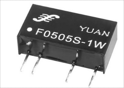 Fixed Input Unregulated Dual Output Dc Converter (0.1-2w)