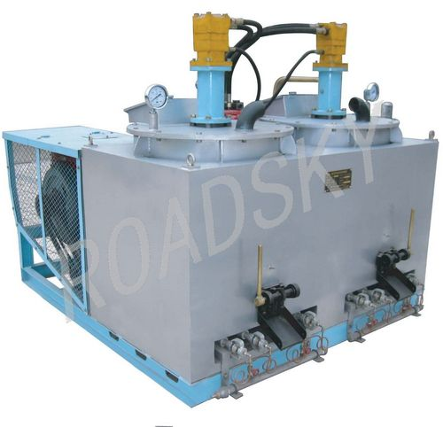 Hydraulic Double Tank Thermoplastic Pre-Heater