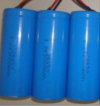 Cylindrical LiFePo4 Battery Cell 3.2V 3000mAh 26650