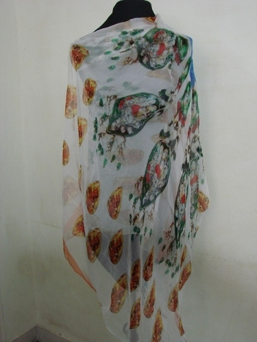 Chiffon Digital Printed Scarf