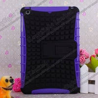 Color TPU+Plastic Case With Stand Holder For iPad Mini