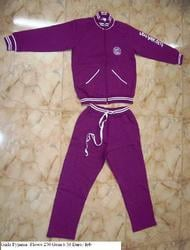 Cotton Knitted Girls Tracksuit
