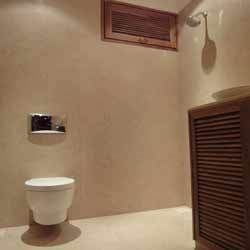 Bath Room Of Wooden Bungalow Construction Service