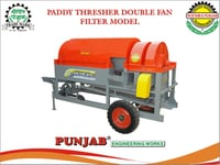 Paddy Thresher Double Fan Filter Model