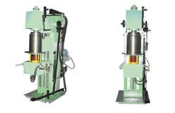 Double Ended Flanging-Cum-Stackable Machine