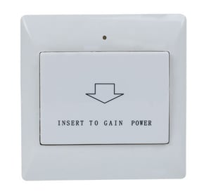 125kHz/13.56MHz Energy-Saving Switch with Room Number Card