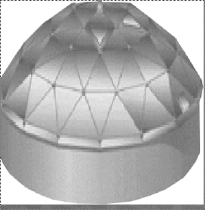 Geodestic Dome Roof