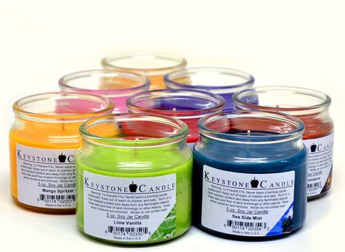 Candle Glass Jar