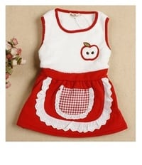 Kids Cotton Top With Skirt