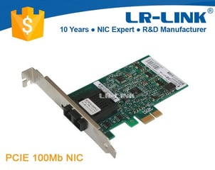 Lr-Link Lrec9030pf Pci-E (X1) Fast Ethernet 100base-Fx Network Card Sc Connector Pxe Support