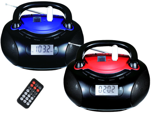 Radio MP3 Player with LCD Display