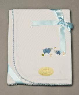 Elephant Receiving Blanket