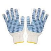 Cotton Knitted Hosiery Hand Gloves