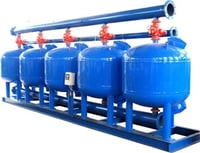 Commercial Automatic Backwash Wastewater Treatment Sand Filter