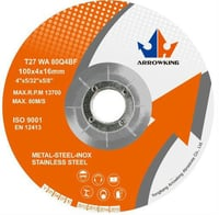 T27 DC Grinding Wheel With Metal