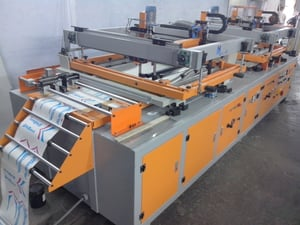 Industrial Roll To Roll Printing Machine