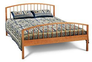Solid Cherry Burnette Bed