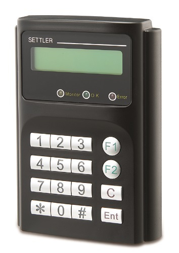 RFID Proximity Card Reader And Controller With LCD Panel