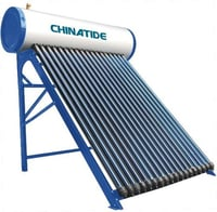 Solar Water Heater With Heat Pipe