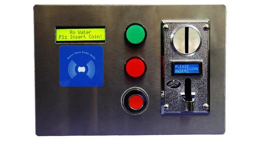 Water Vending Machine Control Panel Coin cum RFID Based