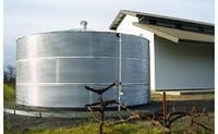 Corrugated Steel Rainwater Tanks