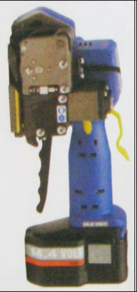 Battery Powered Sealless Plastic Strapping Machine