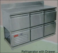 Refrigerator With Drawer