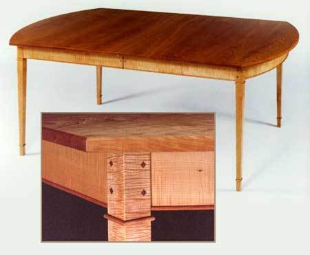 Bowed End Table