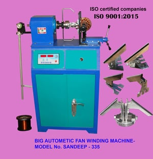 BIG Automatic Ceiling Fan Coil Winding Machines