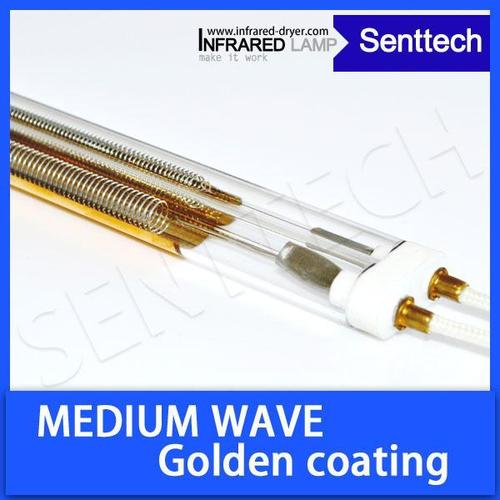 Infrared Lamp Medium Wave With Golden Reflector