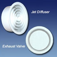 Jet Diffuser and Exhaust Valve