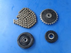 Timing Chain And Sprocket Set