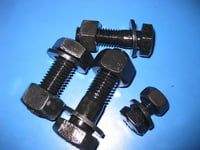 Zinc Plated DIN931 Hexagon Bolt And Nuts