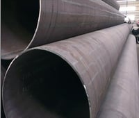 Large Diameter Hot Rolled Cold Formed Welded Steel Pipe