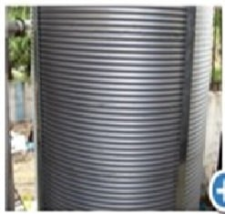 Chemical Plant Steel Silo