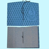Handmade Paper Diary with Printed Buddha and Designer Paper Section